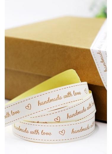 Funbou Kağıt Bant, Handmade Beyaz